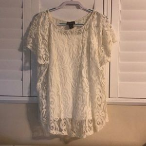 Women's Lace Top and Camisole